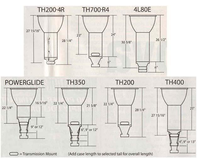 Trimatic/ Aus 4spd TO TH350 - Driveline - GMH-Torana