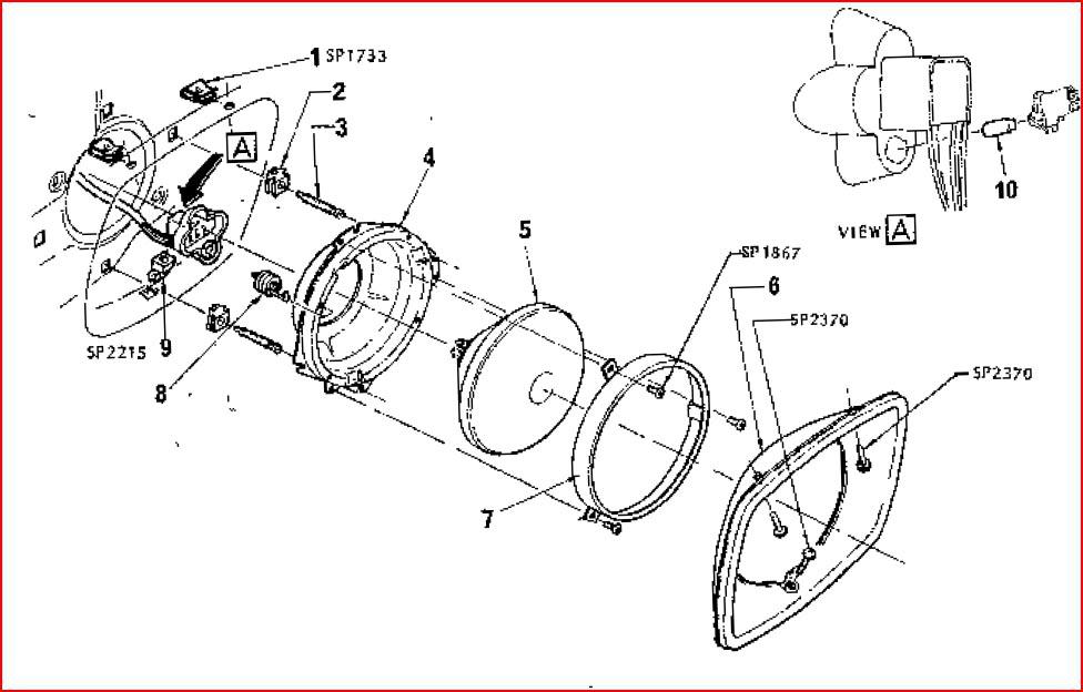 lx torana headlight wiring diagram