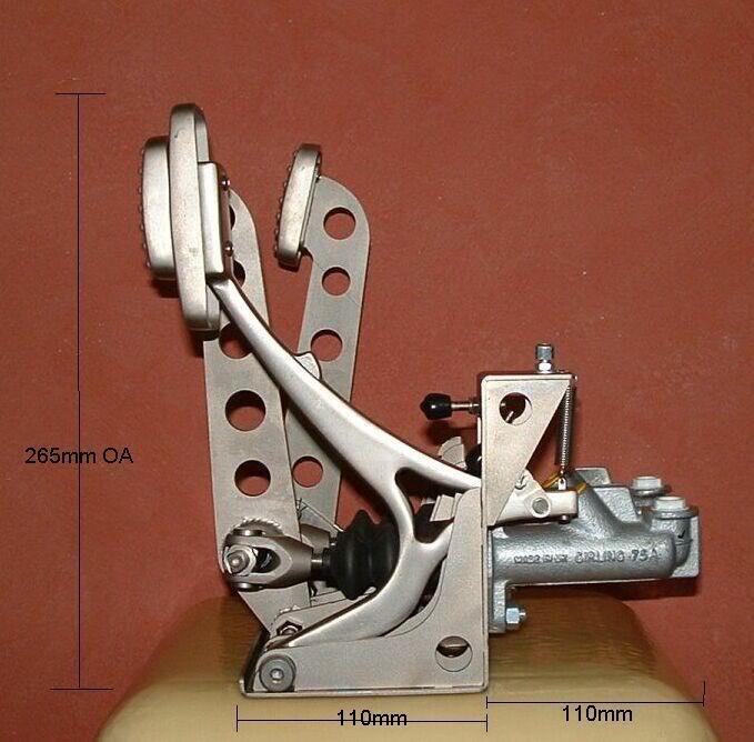 Brake Goes To Floor: Torana Brake Pedal Assemblies