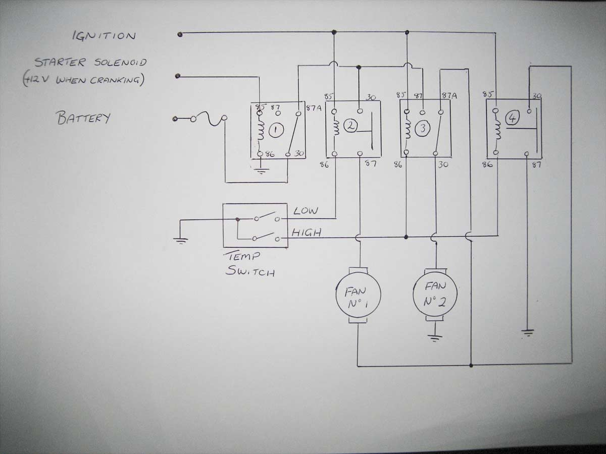 Wiring Diagram Thermo Fan : Half speed thermo fan wiring schematic page