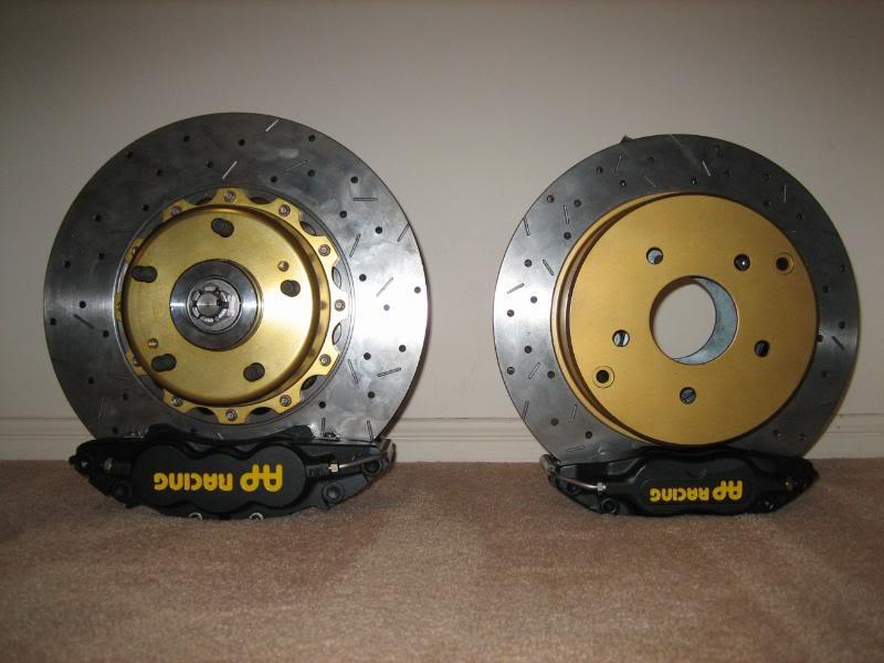 AP Racing Vs Nissan 4pot callipers - Brakes, Wheels and