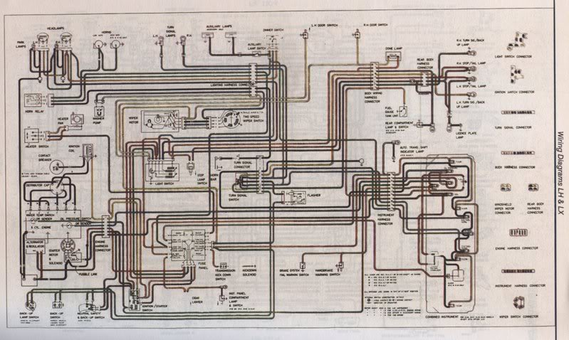 lh lx colour wiring diagram needed electrical gmh torana