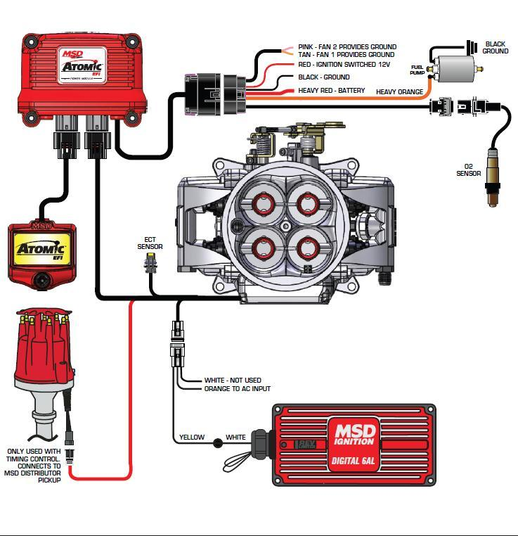 Msd 6al Wiring Diagram Lt1: MSD Atomic EFI To Distributor Issue ...
