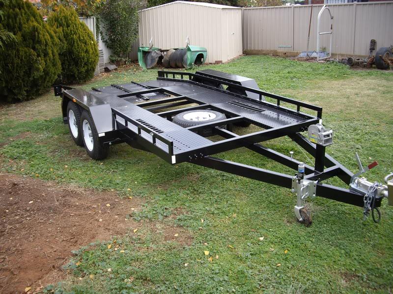 Car trailer build fabrication gmh torana posted image malvernweather Choice Image