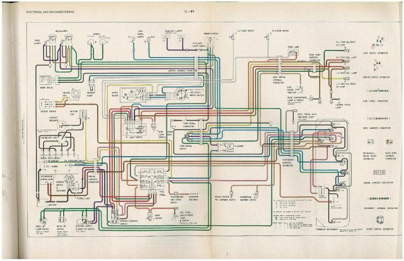 lx wiring diagram electrical gmh torana