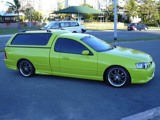 Kinda Reminds Me Of My Old XR6 Turbo Ute When I First Bought It Previous Owner Fitted A Carry Boy Canopy To Looked Like Hearse