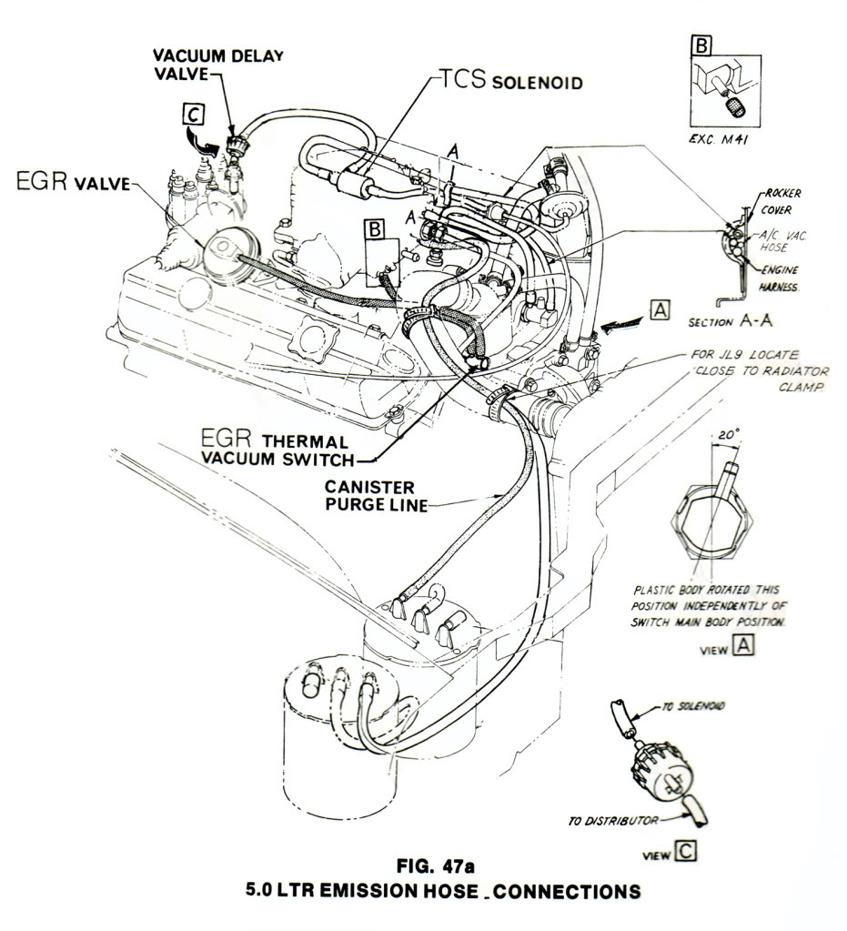 ford vacuum line diagram